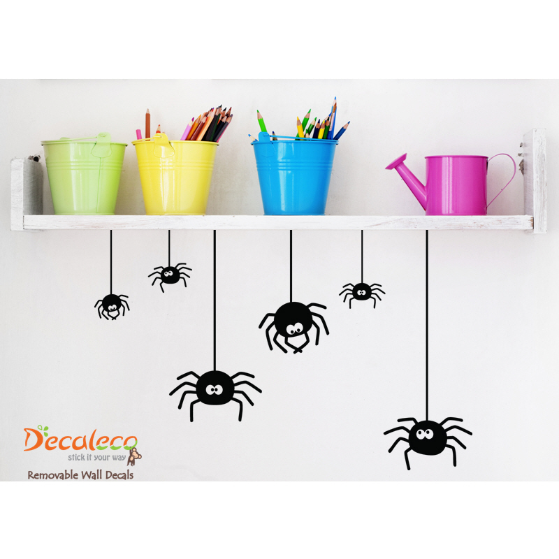 set-of-6-spiders-halloween-wall-decals