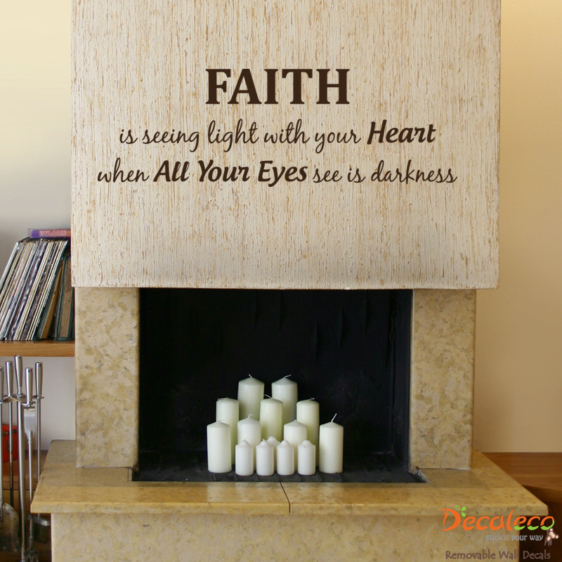 Faith Wall Quote Wall Quotes & Faith Wall Quote |