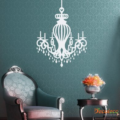 Royal Chandelier Wall Decal
